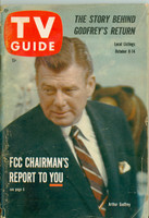 1960 TV Guide Oct 8 Arthur Godfrey Illinois edition Very Good - No Mailing Label  [Wear on binding and cover, contents fine]