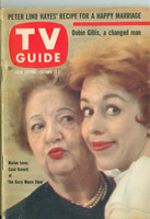 1960 TV Guide Oct 15 Carol Burnett and Marion Lorne Southern Ohio edition Very Good - No Mailing Label  [Sl curl along binding, cover wear; contents fine]