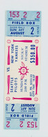 1970 Seatlle Pilots (PHANTOM) Full Ticket vs Yankees at Sicks Stadium [Y70_Pilo0802F_HG _ x1]