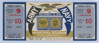 1949 College Football Army vs Navy - Full Ticket November 26