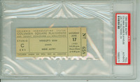 1950 GENE AUTRY Full Ticket Columbia Square Playhouse Hollywood CA Jun 17, 1950 PSA/DNA Authentic Slabbed
