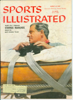 1959 Sports Illustrated August 24 Yachting Good to Very Good [Heavy soiling on both covers - contents fine]