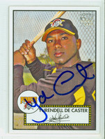 Yurendell DeCaster AUTOGRAPH 2006 Topps Heritage 1952 Topps Design Pirates   [SKU:DeCaY11382_TPHRT06]