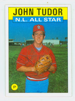 John Tudor AS AUTOGRAPH 1986 Topps All Star #710 Cardinals 