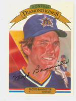 Floyd Bannister AUTOGRAPH 1983 Donruss Diamond King #21 Mariners 
