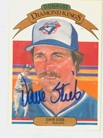Dave Stieb AUTOGRAPH 1983 Donruss Diamond King #9 Blue Jays 