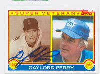 Gaylord Perry Super Vet AUTOGRAPH 1983 Topps Super Vet Mariners   [SKU:PerrG1629_T83BBSVX]