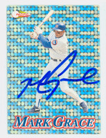 Mark Grace AUTOGRAPH 1994 Pacific Cubs 