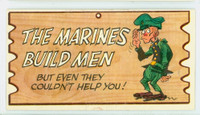 1959 Wacky Plaks 36 The Marines Build Men Very Good to Excellent