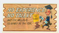 1959 Wacky Plaks 71 No Experience / No Talent Very Good to Excellent