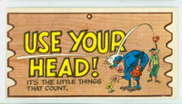 1959 Wacky Plaks 81 Use Your Head! Very Good to Excellent