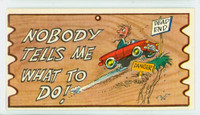 1959 Wacky Plaks 82 Nobody Tells Me What to Do! Very Good