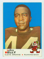 1969 Topps Football 1 Leroy Kelly Cleveland Browns Excellent