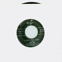 I Love You, Baby | Tell Me That You Love Me - Paul Anka (ABC-Paramount Records 1957) Near-Mint (7 out of 10) - Vintage 45 RPM Vinyl Record Near-Mint