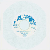 When The Saints Go Marching In [Called] | When The Saints Go Marching In [Instrumental] - Andy Andrus / The Texans [Blue Star] (Blue Star [Houston, Texas] Records 1961) Excellent to Mint (6 out of 10) - Vintage 45 RPM Vinyl Record Excellent to Mint