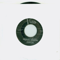 Teenage Wedding | Walkin' And Talkin' - Annette (Buena Vista Records 1963) Excellent (5 out of 10) - Vintage 45 RPM Vinyl Record Excellent[Lt wear on record and label, plays fine]