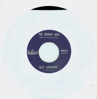 The Bunny Hop | The Hokey Pokey - Ray Anthony And His Orchestra (Capitol Starline Records 1953) Excellent (5 out of 10) - Vintage 45 RPM Vinyl Record Excellent[Lt wear on record and label, plays fine]