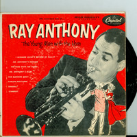 Extended Double Play Record (EP) ft 8 songs: The Man With The Horn | For Dancers Only / Tenderly / Mr. Anthony's Boogie + 4 more - Ray Anthony (Capitol Records 1953) Excellent (5 out of 10) - Vintage 45 RPM Vinyl Record Excellent[Lt wear on record an
