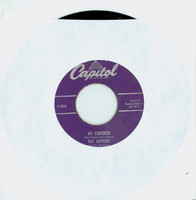 My Concerto | I'll Remember April - Ray Anthony And His Orchestra (Capitol Records 1951) Excellent (5 out of 10) - Vintage 45 RPM Vinyl Record Excellent[Lt wear on record and label, plays fine]