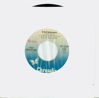 Heartbreaker | My Clone Sleeps Alone - Pat Benatar (Chrysalis Records 1979) Near-Mint (7 out of 10) - Vintage 45 RPM Vinyl Record Near-Mint[Name WRT on label]