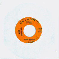 Rose Garden | Nothing Between Us - Lynn Anderson (Columbia Orange Label Records 1970) Near-Mint (7 out of 10) - Vintage 45 RPM Vinyl Record Near-Mint[Initials WRT on label]