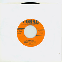 Stardust | Crazy 'Cause I Love You - Ames Brothers (Coral Records 1952) Near-Mint (7 out of 10) - Vintage 45 RPM Vinyl Record Near-Mint[Lt wear on record, ow clean]