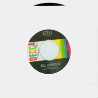 Still | You Made It Easy - Bill Anderson (Decca Records 1963) Near-Mint (7 out of 10) - Vintage 45 RPM Vinyl Record Near-Mint