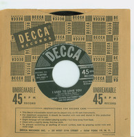 I Used To Love You (But It's All Over Now) | How Many Times (Can I Fall In Love) - Andrews Sisters (Decca Records 1951) Excellent (5 out of 10) - Vintage 45 RPM Vinyl Record Excellent