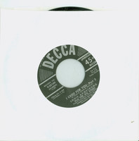 I Cried For You Pt 2 (Side 6 of Box Set) | Tea For Two Pt 1 (Side 9 of Box Set) - Louis Armstrong And The All Stars (Decca Records 1950) Very Good to Excellent (4 out of 10) - Vintage 45 RPM Vinyl Record Very Good to Excellent[Wear on label and recor
