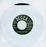 Crying In The Chapel | I Thank The Lord - Rex Allen (Decca Records 1953) Excellent to Mint (6 out of 10) - Vintage 45 RPM Vinyl Record Excellent to Mint