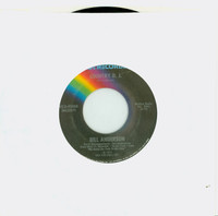 Country D. J. | We Made Love (But Where's The Love We Made) - Bill Anderson (MCA Records 1975) Excellent to Mint (6 out of 10) - Vintage 45 RPM Vinyl Record Excellent to Mint