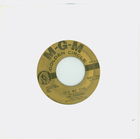 It's My Life | Inside-Looking Out - The Animals (MGM Golden Circle Records 1968) Excellent (5 out of 10) - Vintage 45 RPM Vinyl Record Excellent[Lt wear on record and label, plays fine]