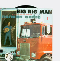 Big Rig Man | Gotta Keep On The Move (Travelin' Man) - Norman André (Palomino [Hollywood, Calif.] Records 1966) Excellent to Mint (6 out of 10) - Vintage 45 RPM Vinyl Record Excellent to Mint[Lt wear on record, plays fine]