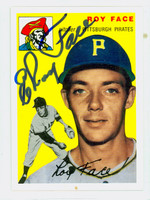 Roy Face AUTOGRAPH Topps 1954 Archives Pirates   [SKU:FaceR1218_T54BBRP]