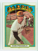 1972 Topps Baseball 477 Tom Phoebus San Diego Padres Excellent to Mint