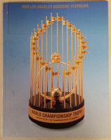 1989 Dodgers Yearbook (from Dodgers' manager Walter Alston's Personal Collection - LOA from Alston family) Near-Mint