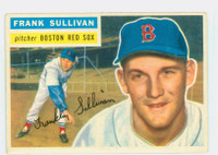 1956 Topps Baseball 71 Frank Sullivan  [SKU:Y56_T56BB_071ag4vgers]  Boston Red Sox Very Good to Excellent Grey Back