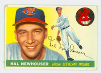 1955 Topps Baseball 24 Hal Newhouser