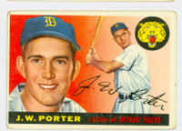 1955 Topps Baseball 49 JW Porter