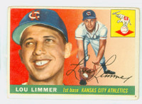 1955 Topps Baseball 54 Lou Limmer