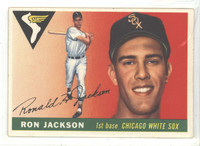 1955 Topps Baseball 66 Ron Jackson
