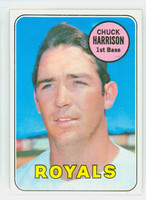 1969 Topps Baseball 116 Chuck Harrison