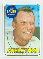 1969 Topps Baseball 124 Hank Bauer
