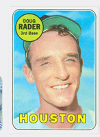 1969 Topps Baseball 119 Doug Rader
