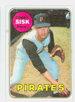 1969 Topps Baseball 152 Tommie Sisk