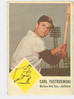 1963 Fleer Baseball 8 Carl Yastrzemski Boston Red Sox Good to Very Good