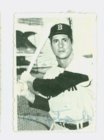 1969 Topps Deckles 4 Carl Yastrzemski Boston Red Sox Excellent