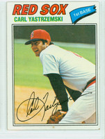 1977 Topps Baseball 480 Carl Yastrzemski Boston Red Sox Very Good