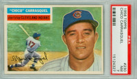 1956 Topps Baseball 230 Chico Carrasquel Tough Series