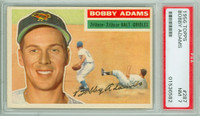1956 Topps Baseball 287 Bobby Adams